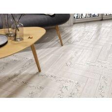 Kerama Marazzi к  SG401600N Кантри Шик белый декорированный 9,9*40,2