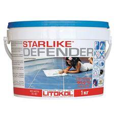 LITOKOL затирка LitoCHROM Starlike Defender C.560  1,0 кг  GRIGIO PORTLAND