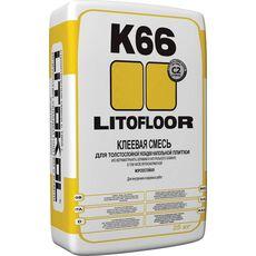LitoFLOOR K66  25 кг клей