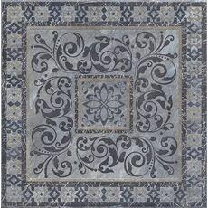 Kerama Marazzi д  STG/С257/SG1504 Бромли серый темный декор 40,2*40,2
