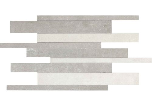 м  URBAN CONCRETE MOSAICO MIX WHITE/FOG RETT. 30*40