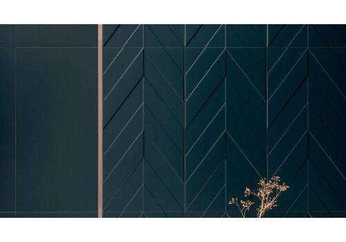 Marca Corona c  4D PLAIN D.BLUE MATT RETT. 40*80
