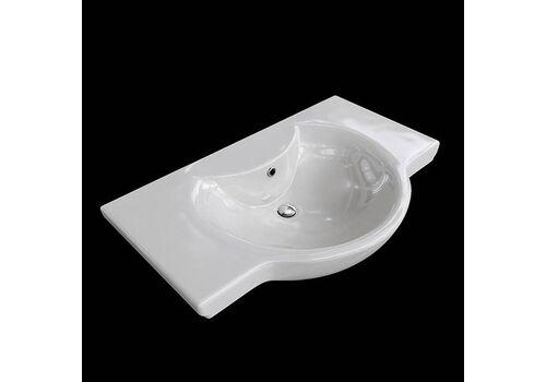 Тумба-комплект Н-ЛАЙН 66 белая подвесная + рак. Архитект 66