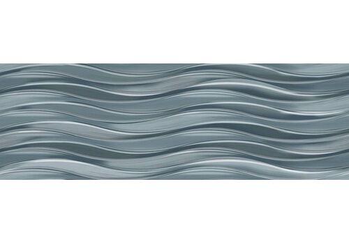 УралКерамика с  TWU11TOR006 TORI бирюзовая волна 200*600*9 кафель настенный
