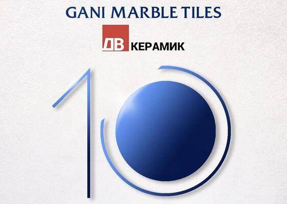 Презентация нового поколения керамогранита Gani Marble Tiles